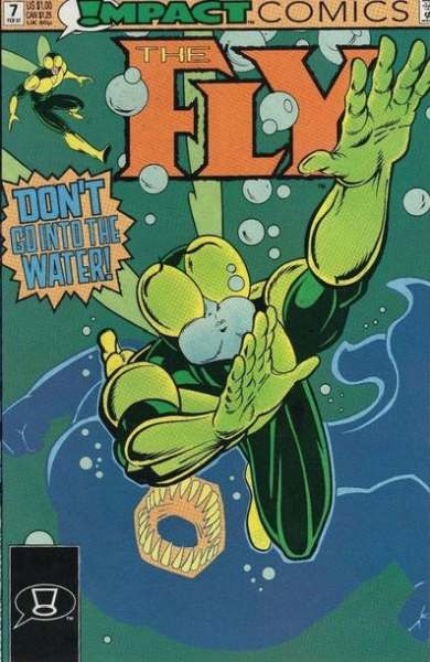Fly #7 comic books - cover scans photos Fly #7 comic books - covers, picture gallery