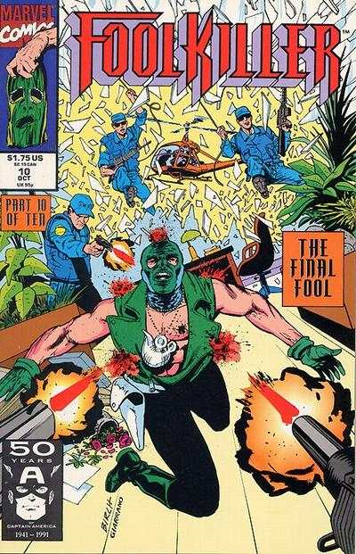 Foolkiller #10 comic books - cover scans photos Foolkiller #10 comic books - covers, picture gallery