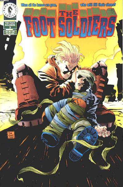 Foot Soldiers #3 Comic Books - Covers, Scans, Photos  in Foot Soldiers Comic Books - Covers, Scans, Gallery