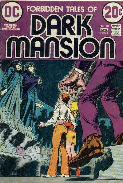 Forbidden Tales of Dark Mansion #10 comic books - cover scans photos Forbidden Tales of Dark Mansion #10 comic books - covers, picture gallery