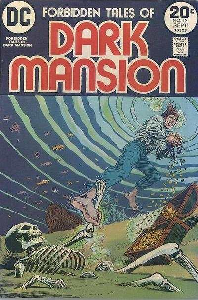 Forbidden Tales of Dark Mansion #12 comic books - cover scans photos Forbidden Tales of Dark Mansion #12 comic books - covers, picture gallery