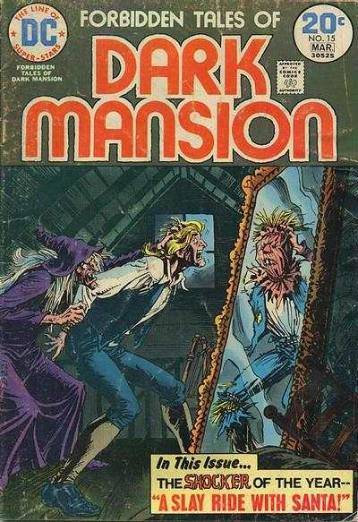 Forbidden Tales of Dark Mansion #15 comic books - cover scans photos Forbidden Tales of Dark Mansion #15 comic books - covers, picture gallery