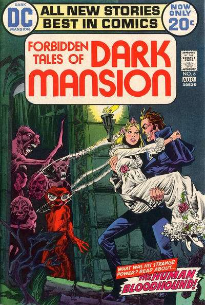 Forbidden Tales of Dark Mansion #6 comic books - cover scans photos Forbidden Tales of Dark Mansion #6 comic books - covers, picture gallery