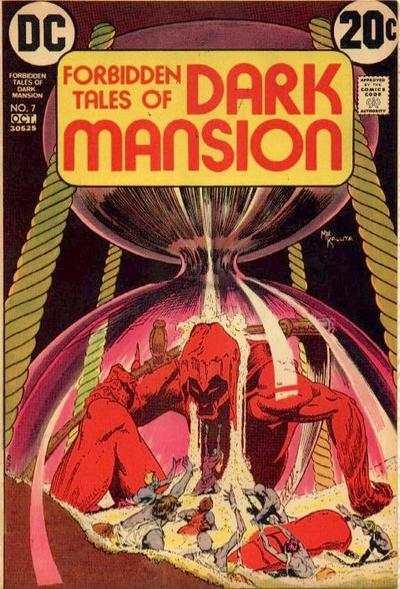 Forbidden Tales of Dark Mansion #7 comic books - cover scans photos Forbidden Tales of Dark Mansion #7 comic books - covers, picture gallery