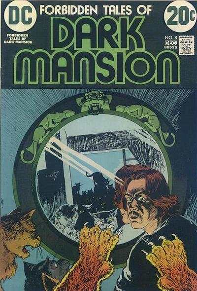 Forbidden Tales of Dark Mansion #8 comic books for sale