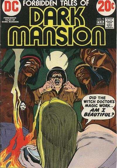 Forbidden Tales of Dark Mansion #9 Comic Books - Covers, Scans, Photos  in Forbidden Tales of Dark Mansion Comic Books - Covers, Scans, Gallery