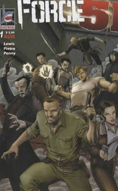 Force 51 Comic Books. Force 51 Comics.