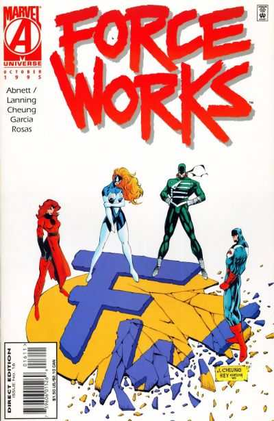 Force Works #16 comic books - cover scans photos Force Works #16 comic books - covers, picture gallery