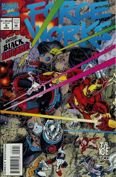Force Works #5 comic books - cover scans photos Force Works #5 comic books - covers, picture gallery