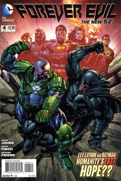 Forever Evil #4 comic books for sale
