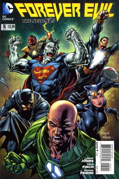 Forever Evil #5 comic books for sale