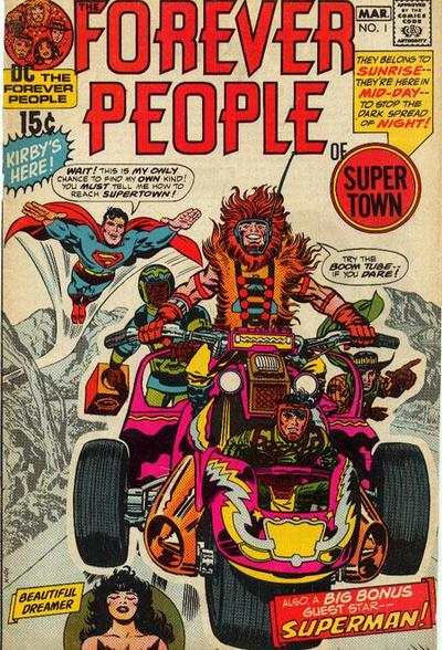 Forever People #1 Comic Books - Covers, Scans, Photos  in Forever People Comic Books - Covers, Scans, Gallery