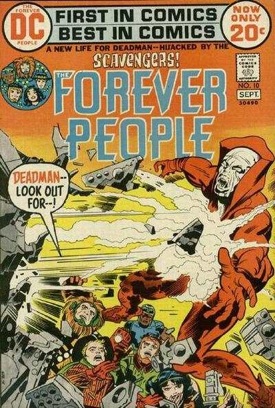 Forever People #10 comic books - cover scans photos Forever People #10 comic books - covers, picture gallery