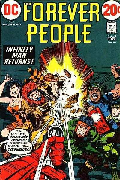 Forever People #11 comic books - cover scans photos Forever People #11 comic books - covers, picture gallery