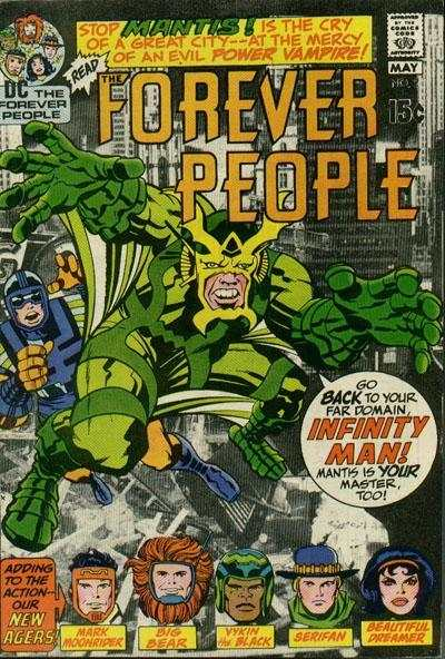 Forever People #2 comic books - cover scans photos Forever People #2 comic books - covers, picture gallery