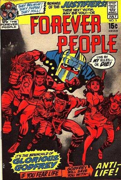 Forever People #3 Comic Books - Covers, Scans, Photos  in Forever People Comic Books - Covers, Scans, Gallery
