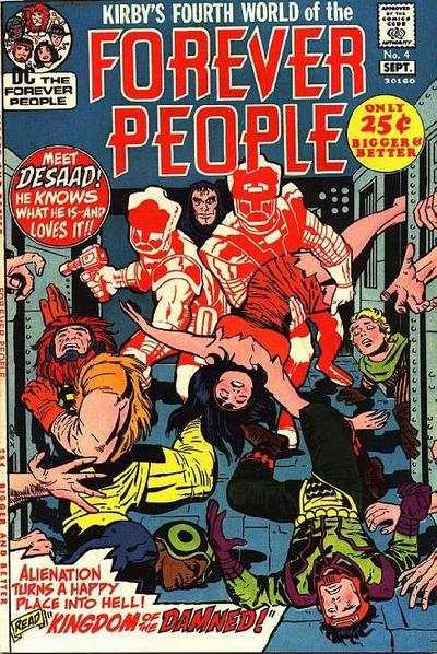 Forever People #4 comic books - cover scans photos Forever People #4 comic books - covers, picture gallery