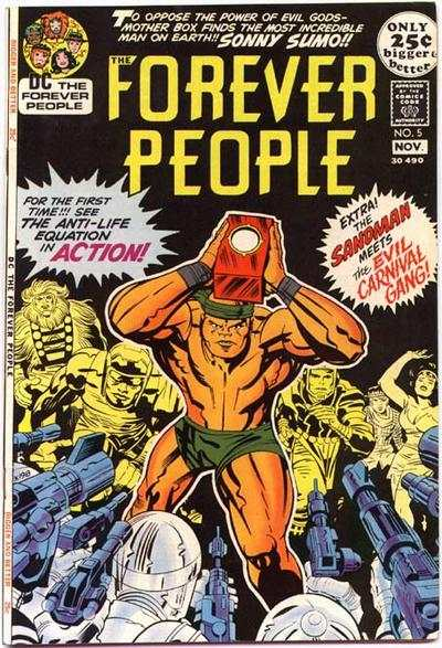Forever People #5 comic books - cover scans photos Forever People #5 comic books - covers, picture gallery
