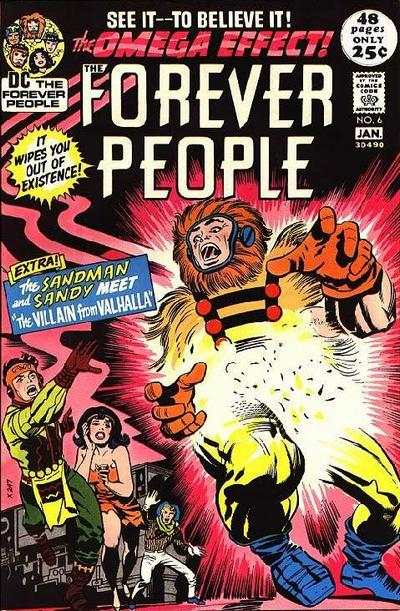 Forever People #6 comic books - cover scans photos Forever People #6 comic books - covers, picture gallery
