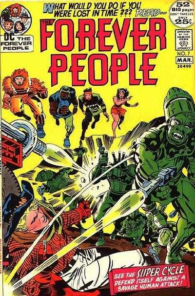 Forever People #7 comic books - cover scans photos Forever People #7 comic books - covers, picture gallery