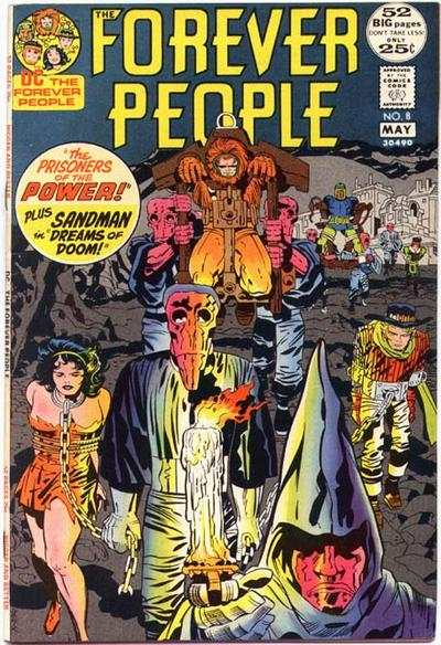 Forever People #8 comic books - cover scans photos Forever People #8 comic books - covers, picture gallery