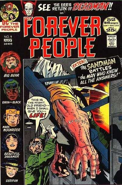 Forever People #9 comic books - cover scans photos Forever People #9 comic books - covers, picture gallery