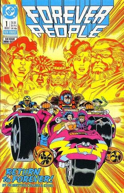 Forever People #1 comic books - cover scans photos Forever People #1 comic books - covers, picture gallery