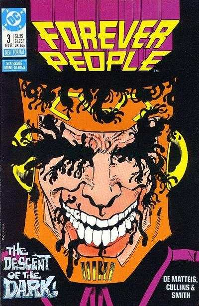 Forever People #3 comic books - cover scans photos Forever People #3 comic books - covers, picture gallery