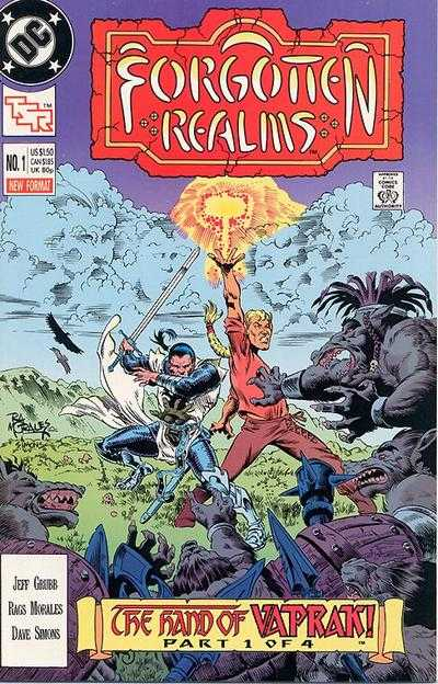 Forgotten Realms #1 Comic Books - Covers, Scans, Photos  in Forgotten Realms Comic Books - Covers, Scans, Gallery
