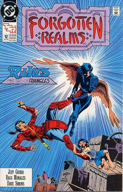 Forgotten Realms #12 Comic Books - Covers, Scans, Photos  in Forgotten Realms Comic Books - Covers, Scans, Gallery