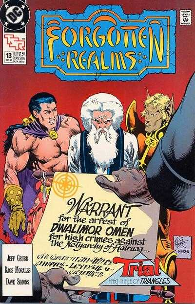 Forgotten Realms #13 comic books - cover scans photos Forgotten Realms #13 comic books - covers, picture gallery