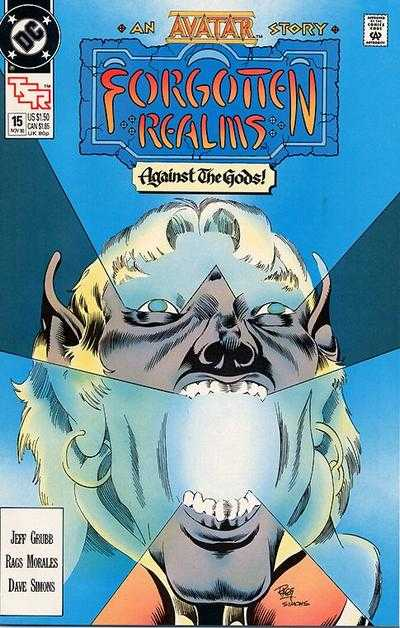 Forgotten Realms #15 comic books - cover scans photos Forgotten Realms #15 comic books - covers, picture gallery