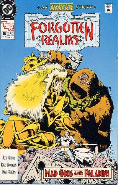 Forgotten Realms #16 comic books - cover scans photos Forgotten Realms #16 comic books - covers, picture gallery