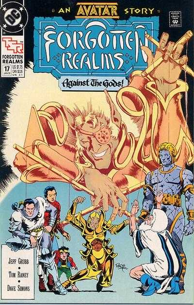 Forgotten Realms #17 comic books - cover scans photos Forgotten Realms #17 comic books - covers, picture gallery