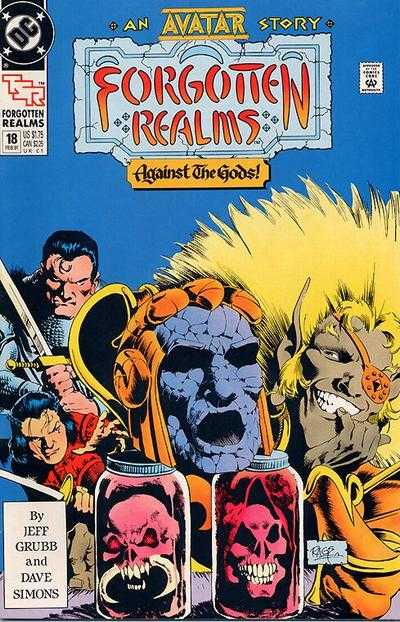 Forgotten Realms #18 comic books - cover scans photos Forgotten Realms #18 comic books - covers, picture gallery