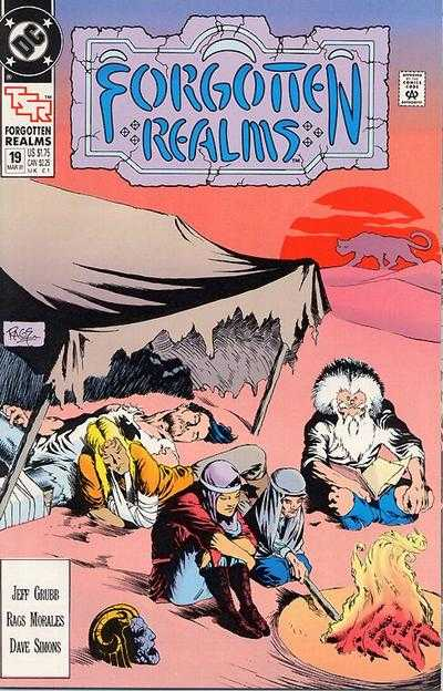 Forgotten Realms #19 comic books - cover scans photos Forgotten Realms #19 comic books - covers, picture gallery