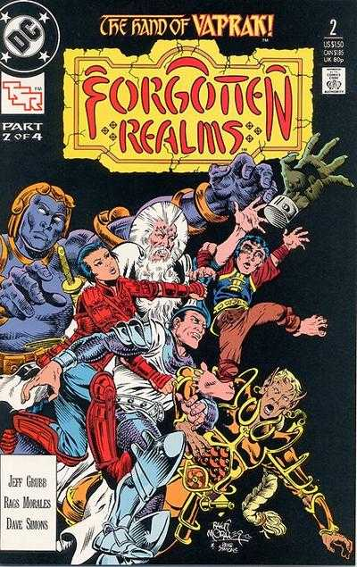 Forgotten Realms #2 comic books - cover scans photos Forgotten Realms #2 comic books - covers, picture gallery