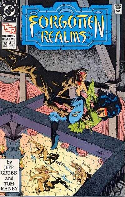 Forgotten Realms #20 comic books - cover scans photos Forgotten Realms #20 comic books - covers, picture gallery