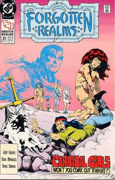 Forgotten Realms #21 Comic Books - Covers, Scans, Photos  in Forgotten Realms Comic Books - Covers, Scans, Gallery