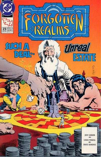 Forgotten Realms #23 comic books - cover scans photos Forgotten Realms #23 comic books - covers, picture gallery