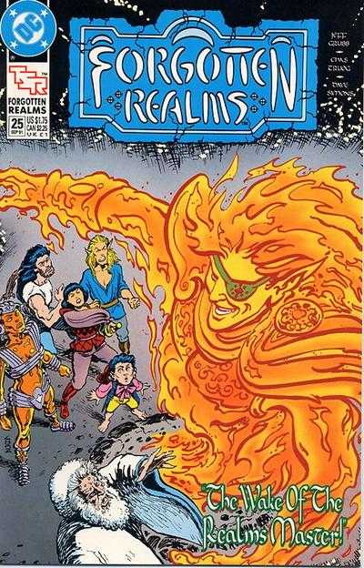 Forgotten Realms #25 comic books - cover scans photos Forgotten Realms #25 comic books - covers, picture gallery