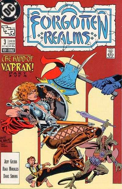 Forgotten Realms #3 comic books - cover scans photos Forgotten Realms #3 comic books - covers, picture gallery