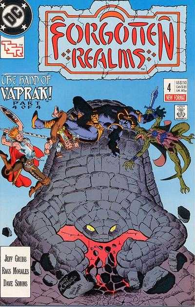 Forgotten Realms #4 comic books - cover scans photos Forgotten Realms #4 comic books - covers, picture gallery