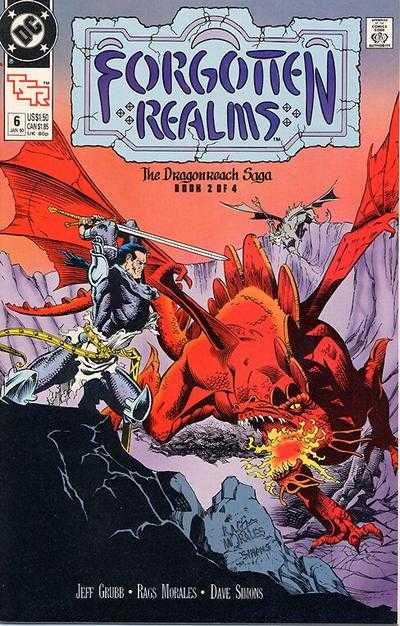 Forgotten Realms #6 comic books - cover scans photos Forgotten Realms #6 comic books - covers, picture gallery