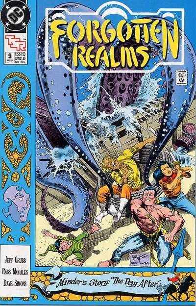 Forgotten Realms #9 comic books - cover scans photos Forgotten Realms #9 comic books - covers, picture gallery