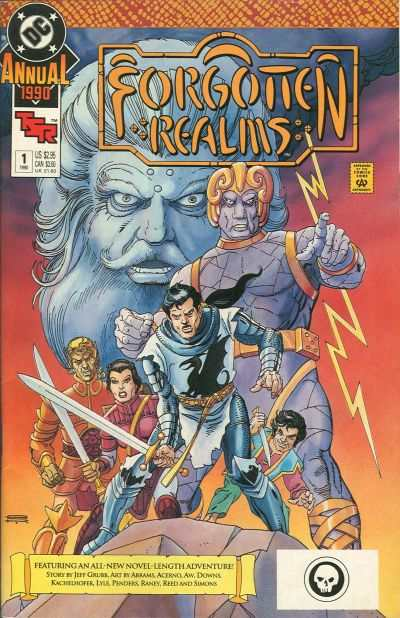 Forgotten Realms #1 comic books - cover scans photos Forgotten Realms #1 comic books - covers, picture gallery