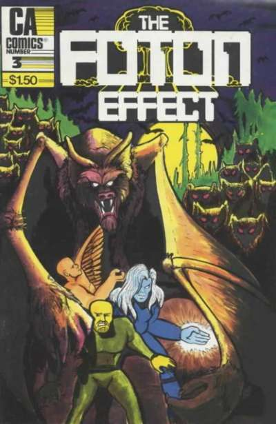 Foton Effect #3 Comic Books - Covers, Scans, Photos  in Foton Effect Comic Books - Covers, Scans, Gallery