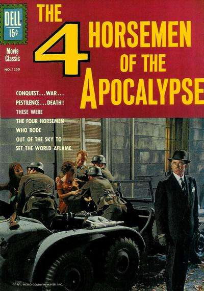 Four Horsemen of the Apocalypse comic books