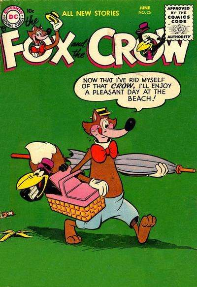 Fox and the Crow #25 Comic Books - Covers, Scans, Photos  in Fox and the Crow Comic Books - Covers, Scans, Gallery