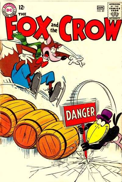 Fox and the Crow #89 comic books - cover scans photos Fox and the Crow #89 comic books - covers, picture gallery